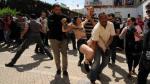 FOTOS: Arrestan a integrantes de Femen por hacer topless en Túnez - Noticias de amina tyler