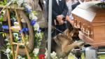 EEUU: Perro policía dio el último adiós a su excompañero - Noticias de rick mccubbin