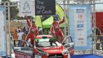 FOTOS: La victoria de Nicolás Fuchs en el Rally de Grecia - Noticias de rally de grecia