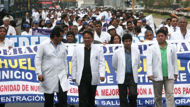 Médicos volverán a tomar las calles. (David Vexelman)