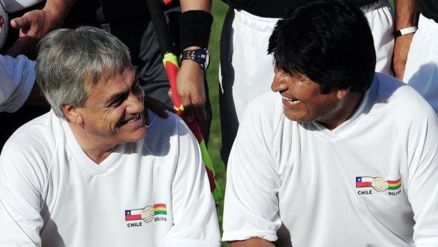 """... dice que Evo Morales está """"obsesionado"""" con Sebastián Piñera"""