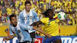 Ecuador reclamará a la FIFA por arbitraje ante Argentina - Noticias de felipe caceres