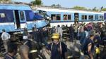 Choque de trenes deja tres muertos y 315 heridos - Noticias de ferrocarril sarmiento