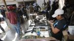 Colombiano cae con arsenal en Manchay - Noticias de ricardo penuela gomez