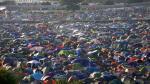 FOTOS: Música y color en el tradicional festival de Glastonbury - Noticias de elvis costello