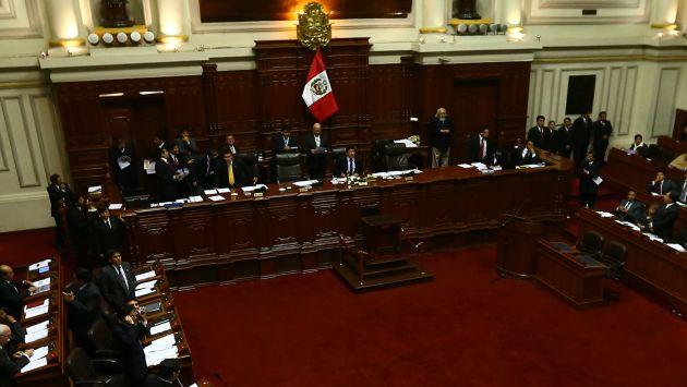 Votación clave para la reforma del Estado. (Rafael Cornejo)
