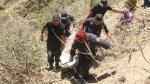 Piura: Cinco muertos tras la caída de camioneta a un abismo - Noticias de sondor