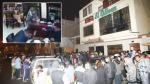 Madre entrega a sicario que mató a dos comensales en chifa - Noticias de israel chavez apestegui