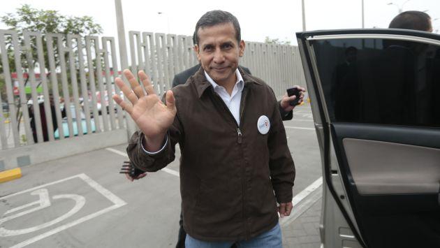 Ollanta Humala respondió sobre algunos temas de actualidad para dar tranquilidad, pero no hubo autocríticas. (César Fajardo)