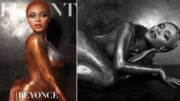 Beyoncé fue fotografiada por Tony Duran. (Revista Flaunt)