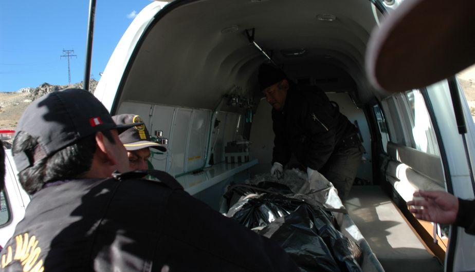 Avioneta, Accidente aéreo, Huarochirí, Walter Braedt, José de Col