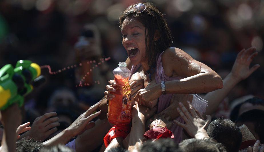 FOTOS: Manoseos en San Ferm�n abren debate sobre violencia de ...