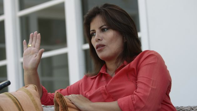 Carmen Omonte dijo que Pilar Freitas es una profesional de primer nivel. (Rafael Cornejo/Peru21)