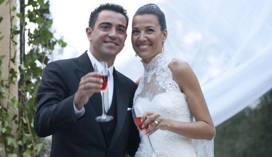 Matrimonio De Messi : Fotos lionel messi se lució en el matrimonio de xavi