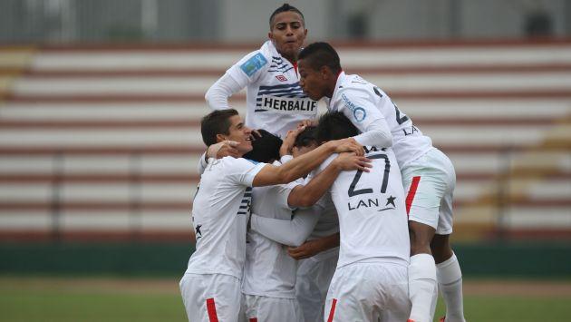 San Martín ya suma 26 puntos en el torneo. (Leonardo Fernández-Depor/CMD-Movistar TV)
