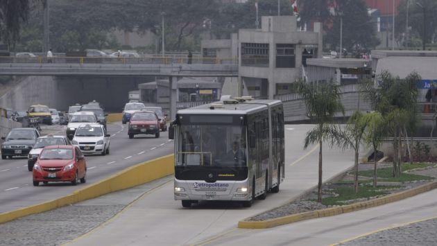 Metropolitano llegará hasta San Juan de Miraflores por la Vía Expresa Sur. (Rafael Cornejo)