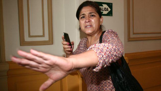 Según Corina de la Cruz, Nancy Obregón y su clan están metidos en el narcotráfico. (David Vexelman)