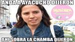 FOTOS: Memes sobre despido de Rosario Ponce en Ayacucho - Noticias de rosario botton giron