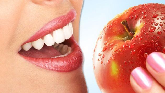 La manzana elimina las bacterias de tu boca. (Internet)