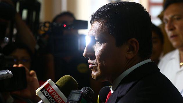 Isla dice que una legislatura  extraordinaria depende de los congresistas. (Perú21)