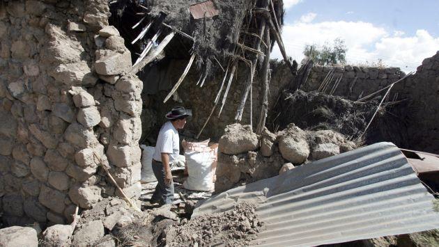 Temblor dañó varias casas. (Heiner Aparicio)