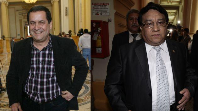 Luis Iberico y José Luna apuntan a la segunda y tercera vicepresidencia del Legislativo, respectivamente. (Peru21)