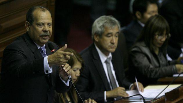 Salazar espera aglutinar el voto de la oposición. (Peru21)