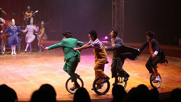 Estas Fiestas Patrias, los circos presentan los más variados espectáculos. (USI)