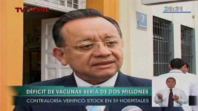 Confirman compra de menos vacunas que el año pasado. (TV Perú)