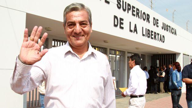 Elidio Espinoza recibió fallo favorable el pasado martes.