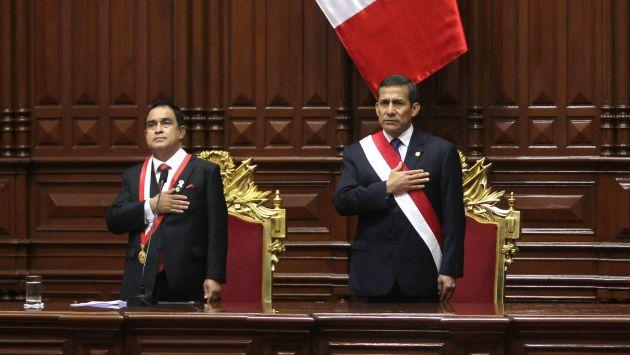 Fredy Otárola dijo que Congreso empujará proyectos planteados por el Ejecutivo. (EFE)