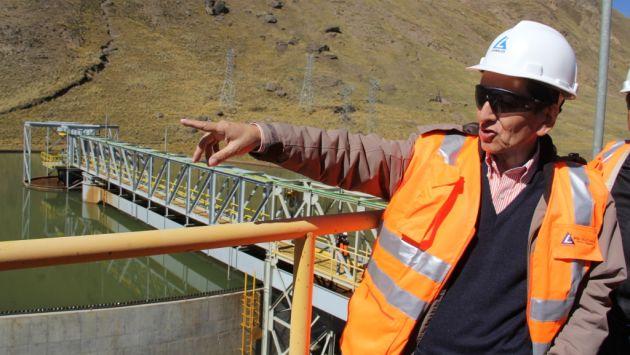 Ministro Jorge Merino indicó que proyectos Cerro Verde, Las Bambas, Toromocho son una realidad.  (Difusión)