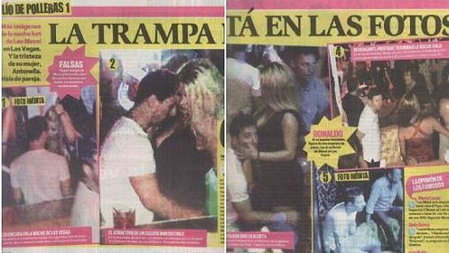 La Pulga De Las Vegas >> Diario niega haber trucado fotos de Lionel Messi con rubia   Deportes   Peru21