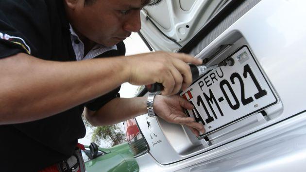 Hoy se inicia proceso de cambio de placas impresa peru21 - Matricula coche hoy ...