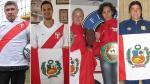 Deportistas orgullosos y felices de ser peruanos - Noticias de ramon quiroga