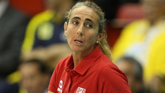 Natalia Málaga sufrió durante el partido de infarto. (USI)