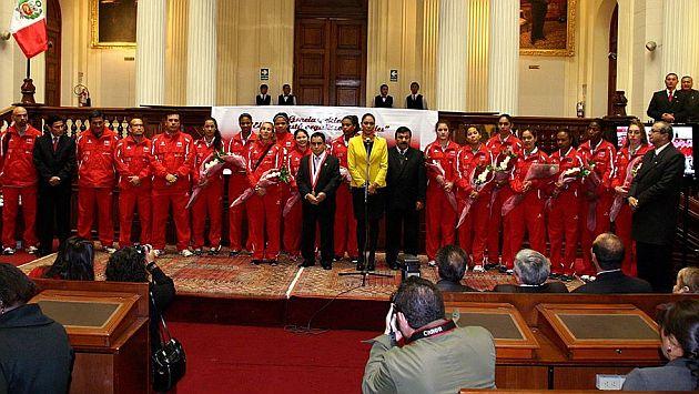 Ceremonia fue en la sala Raúl Porras Barrenechea. (Congreso/Canal N)