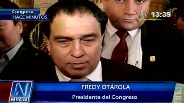 Desatino de Fredy Otarola fue muy criticado. (Canal N)
