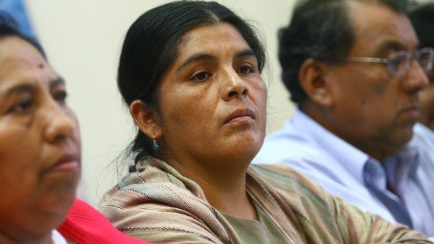 Pedida. Huancahuari aduce que es víctima de persecución política. (Perú21)