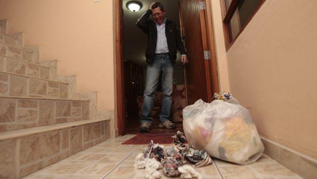 Nunca faltan los que no respetar horarios de arrojo de basura. (USI)