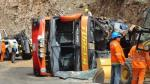 Jaén: Al menos 12 muertos en accidente vehicular - Noticias de cesar burga rivera