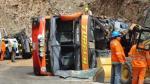 Choque entre camión y bus deja 12 muertos - Noticias de accidente en jaén