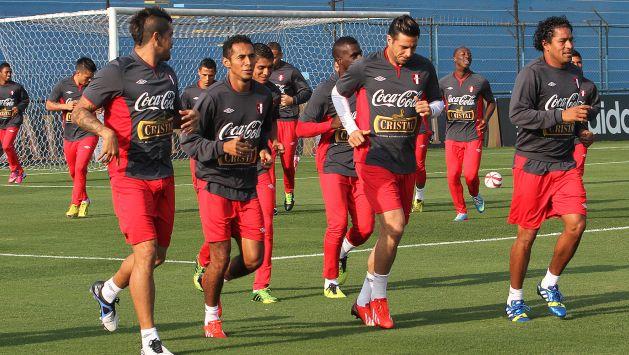La selección peruana ya están en Suwon para amistoso del miércoles. (USI)