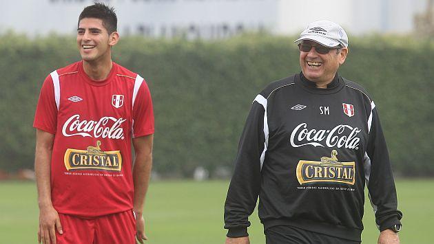 Sergio Markarián sí podrá contar con Carlos Zambrano este miércoles. (USI)