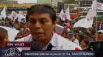 Vecinos de San Juan de Lurigancho piden inhabilitación de Carlos Burgos - Noticias de jessica oviedo