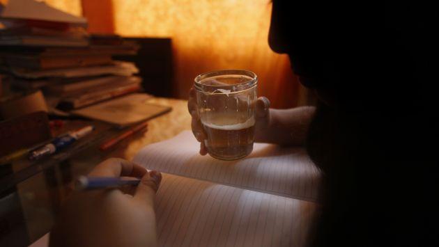 Una vida truncada. Un grupo de escolares de ocho años terminó confesando que había consumido licor. (Mario Zapata)