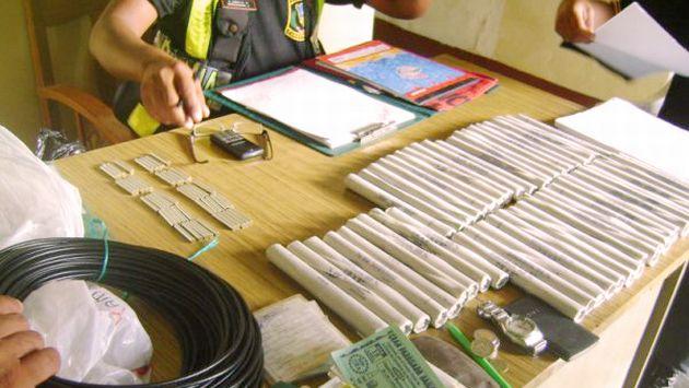 Cargamento de dinamita estaría destinado a la minería ilegal. (USI/Referencial)