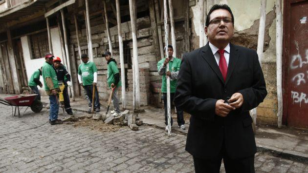 Félix Moreno afirmó que se somete a las investigaciones. (César Fajardo)