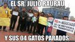 FOTOS: Vacilan con memes a Julio Rau Rau por fallido paro de transporte - Noticias de paro cardiaco