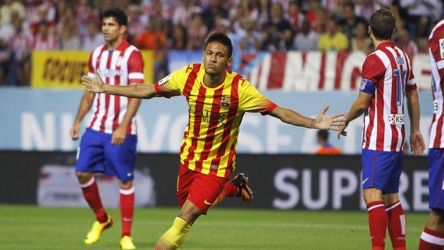 Neymar fue vital con su ingreso. (AP)
